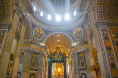Saint Peters Basilica Royalty Free Stock Image