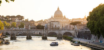 Saint Peters Basilica - Vatican - Rome, Italy Royalty Free Stock Images