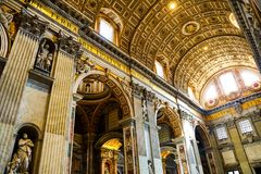 Saint Peters Cathedral imagens de stock