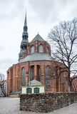 Saint Peters church in Riga royalty free stock image