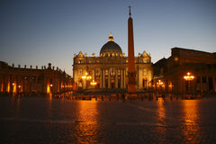 Saint Peters Square Stock Photos