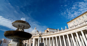 Saint peters square, roma Stock Images