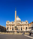 Saint Peters Square in Rome Stock Photos