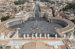 Saint Peters Square, Rome Stock Images