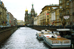 Saint - Petersburg. Russia. Saint - Petersburg. Channel Griboedova Stock Image