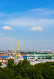 Saint-Petersburg From Above Stock Images