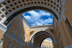 Saint Petersburg architecture Royalty Free Stock Photo