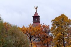 Saint-Petersburg in the autumn Stock Photography