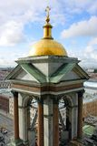 Saint-Petersburg, belfry of St. Isaac's Cathedral Stock Photo