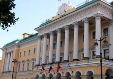 Saint Petersburg:a building in Nevsky Prospect Stock Image