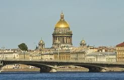 Saint Petersburg, cathedral of St. Isaac Royalty Free Stock Photography