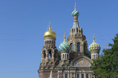 Saint-Petersburg. Church of the Savior on Blood Stock Image