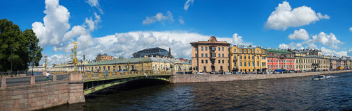 Saint Petersburg city center, Russia Royalty Free Stock Images