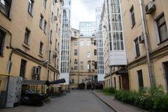 Saint Petersburg courtyard Royalty Free Stock Photo