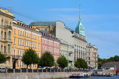 Saint Petersburg, embankment of the river Moika Stock Photo