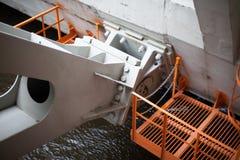 The Saint Petersburg Flood Prevention Facility Complex Stock Images