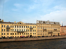 Saint-Petersburg, Fontanka Embankment Royalty Free Stock Photos