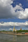 Saint-Petersburg fortress Royalty Free Stock Photo