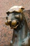 Saint-Petersburg griffin Stock Images