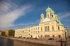 Saint Petersburg - Holy Temple Issidorovsky Royalty Free Stock Photography
