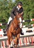SAINT PETERSBURG-JULY 05: Rider Andrius Petrovas on Zuko S Royalty Free Stock Images