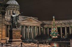 Saint Petersburg, Kazan Cathedral Stock Photos