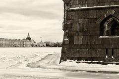 Saint Petersburg landmark Peter and Paul fortress Stock Photography