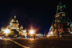 Saint-Petersburg. Landscape of the beautiful russian city Royalty Free Stock Photo