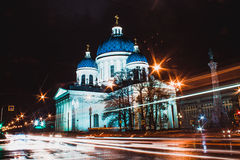 Saint-Petersburg. Landscape of the beautiful russian city Stock Photography