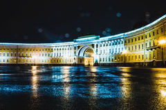 Saint-Petersburg. Landscape of the beautiful russian city Royalty Free Stock Image