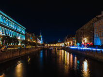 Saint-Petersburg. Landscape of the beautiful russian city Royalty Free Stock Images