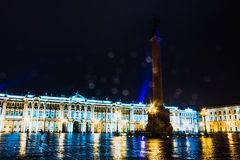 Saint-Petersburg. Landscape of the beautiful russian city Royalty Free Stock Photography