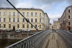 Saint-Petersburg, the Lion bridge Royalty Free Stock Photos