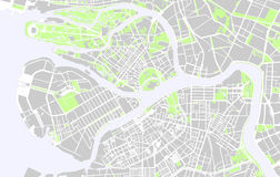 Saint Petersburg maps Stock Photos