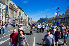 SAINT-PETERSBURG, MAY 30: Participants Stock Photography