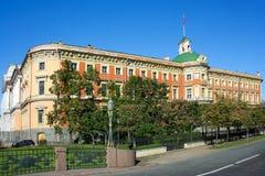 Saint-Petersburg, Mikhailovsky castle Royalty Free Stock Image