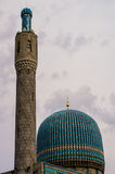 Saint Petersburg mosque Royalty Free Stock Photo