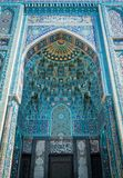 Saint Petersburg Mosque, largest mosque in Europe, in St. Petersburg, Russia. stock image