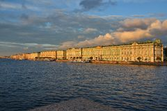 Saint-Petersburg, the Neva River Royalty Free Stock Images