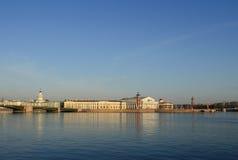 Saint Petersburg, Neva river Stock Images