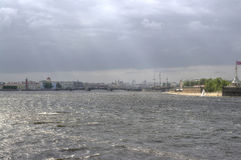 Saint Petersburg. Neva River Royalty Free Stock Image