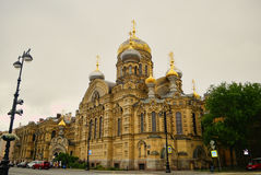 Saint Petersburg. The old cathedral in Saint Petersburg Russia Royalty Free Stock Photo