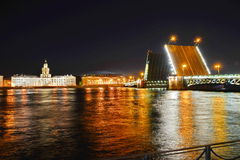 Saint-Petersburg, Palace Bridge Royalty Free Stock Image