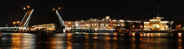 Saint Petersburg, Palace Bridge Royalty Free Stock Image