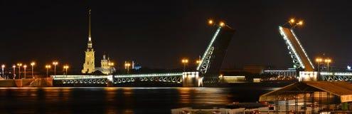 Saint Petersburg, Palace Bridge Royalty Free Stock Photo