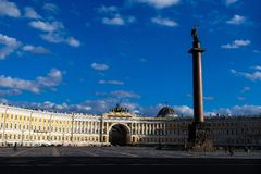 Saint-Petersburg, Palace square Royalty Free Stock Image