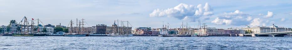 Saint-Petersburg Panorama Stock Image