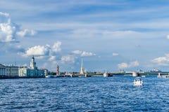 Saint-Petersburg Panorama Royalty Free Stock Photography
