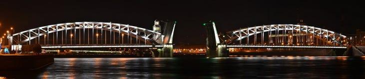 Saint Petersburg, Peter the Great Bridge Stock Image