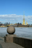 Saint-Petersburg. Peter and Paul fortress. stock photography
